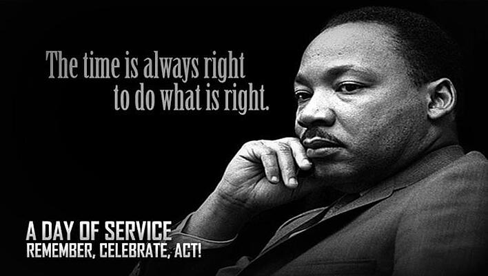 The Stepping Stones Group Celebrates in Service - Martin Luther King Jr. Day