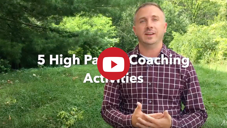 The 5 High Payoff Coaching Activities