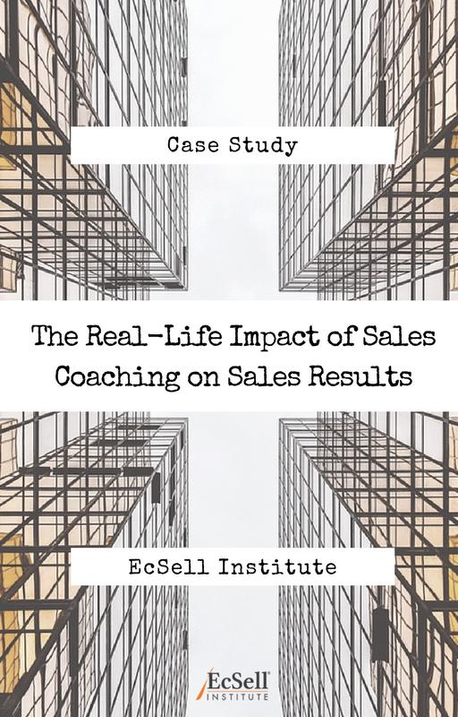 Impact of Sales Coaching