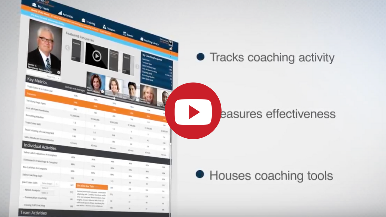 Sales Coaching Tracking System