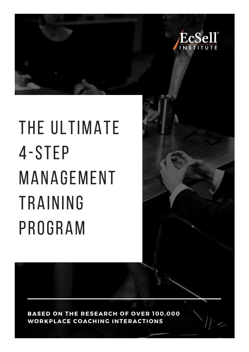 The 4-Step Management Training Program