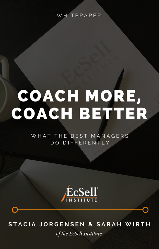 Sales Coaching Quantity and Quality