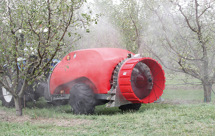TRENDS: THE TECHNOLOGICAL DEVELOPMENT OF SPRAYERS IN THE MEDITERRANEAN BASIN