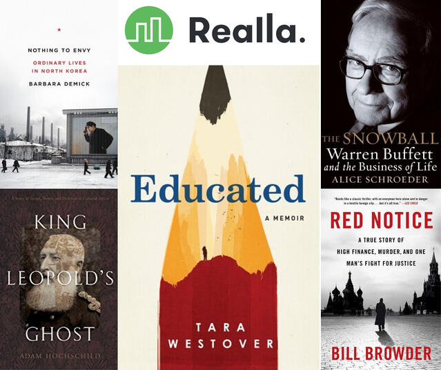 Realla's #WFH Reading List - Andrew Miles of Realla
