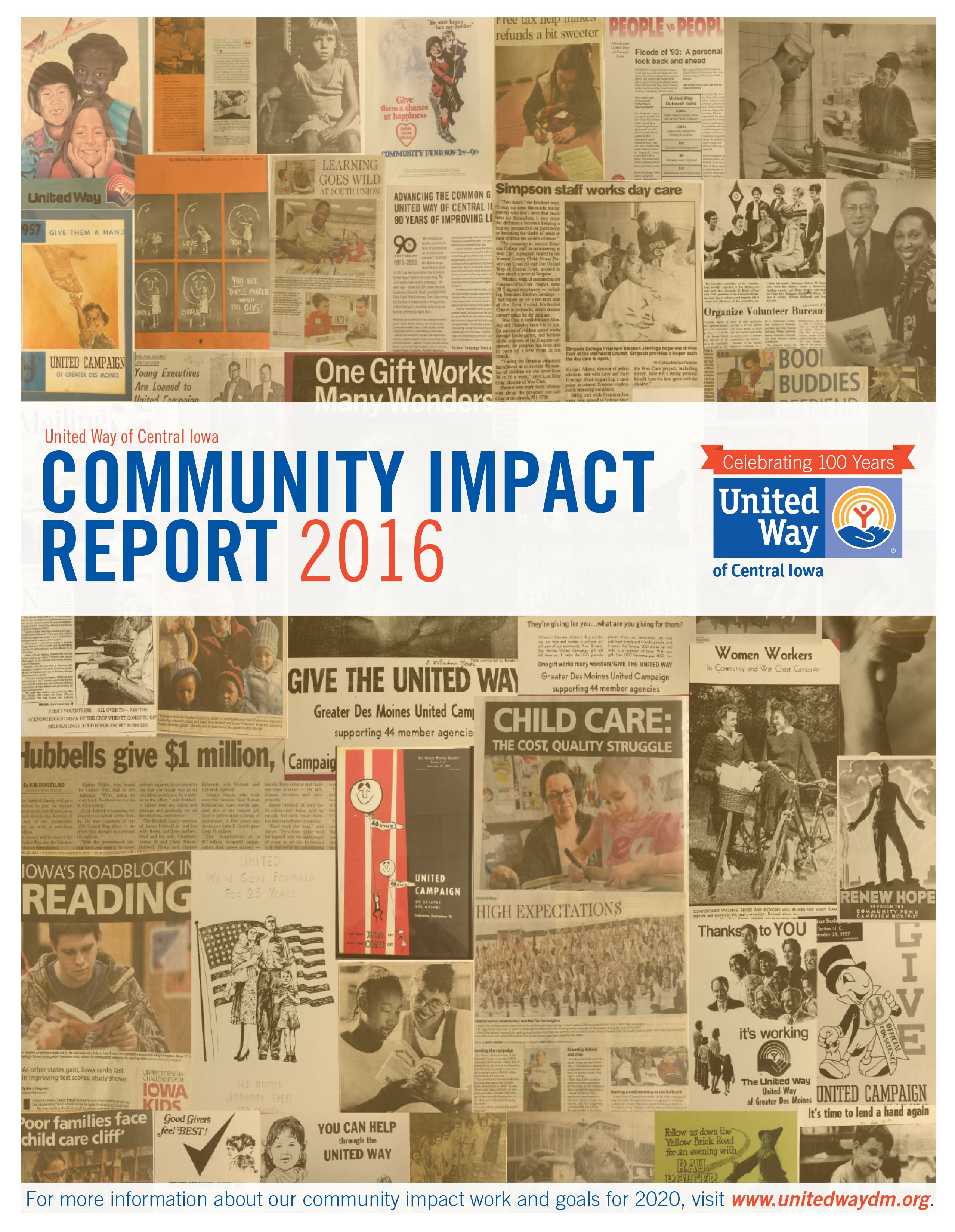 2016 Community Impact Report (click to download)