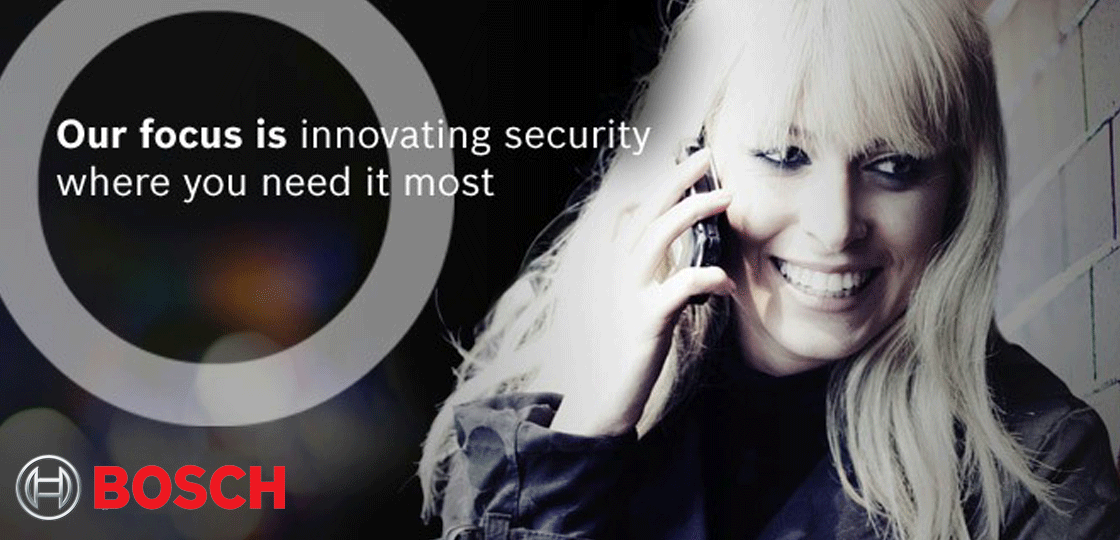 Bosch, security solutions for everyone