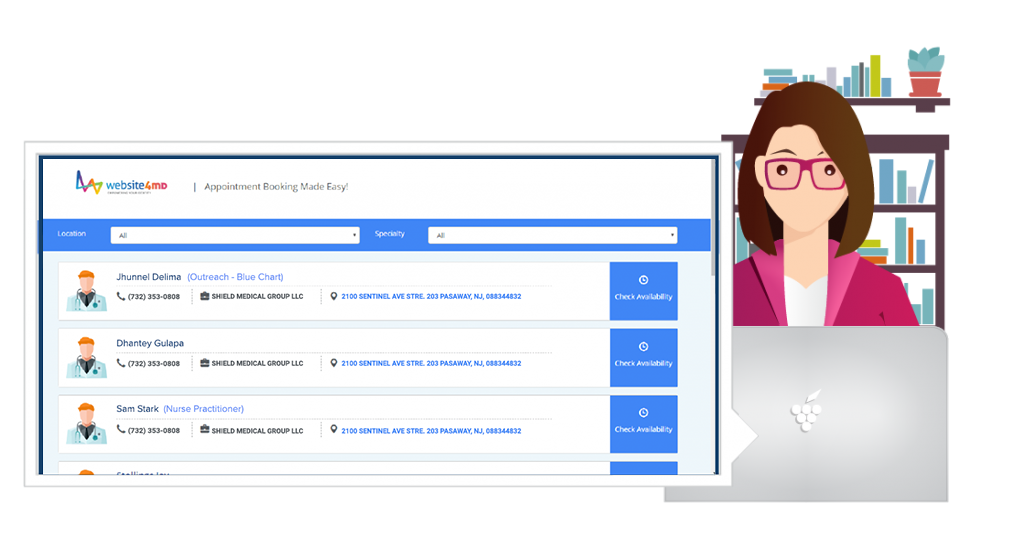 Appointment Booking Made Easy with Website4MD