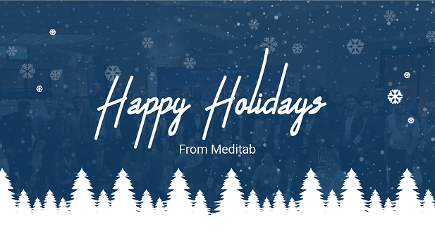 Happy Holidays from Your Meditab Family
