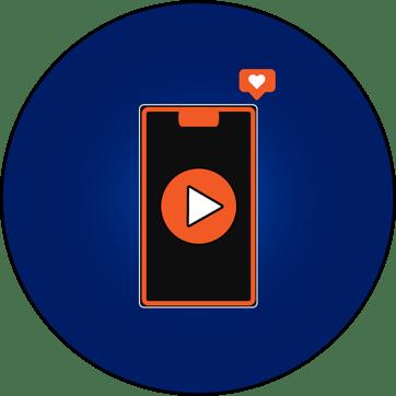 social media video graphic