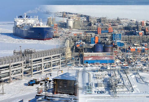 Yamal LNG the gas megaproject in the Russian Arctic with COMECA
