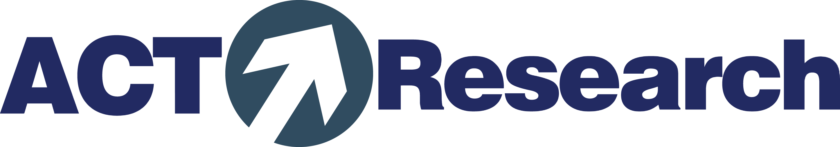 ACT_Research_logo-horizontal blue letters, gray arrow