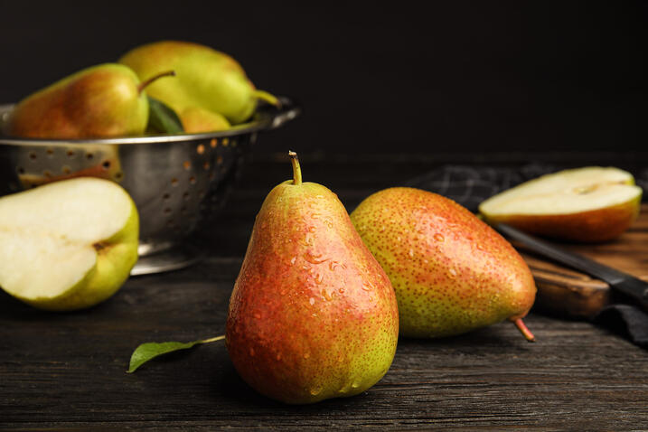 Pears go mainstream on menus