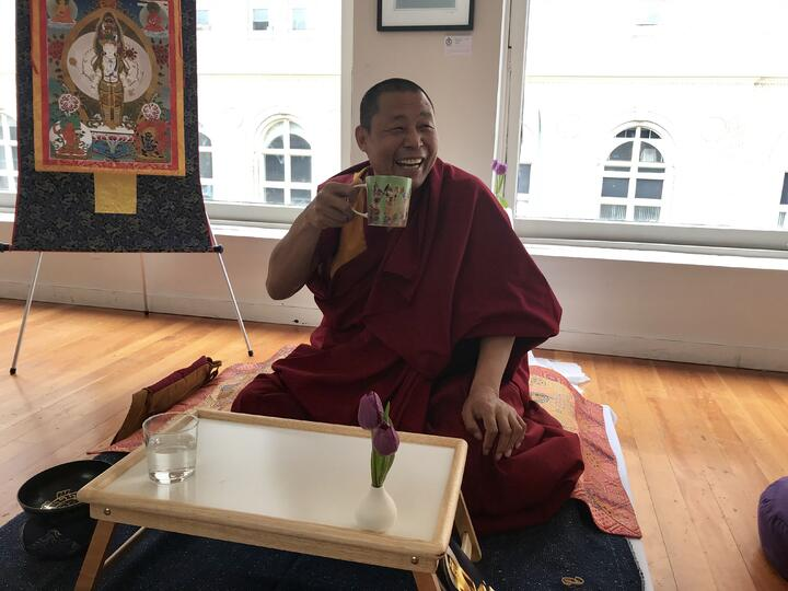 Comforting Words from Namchak Khen Rinpoche