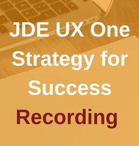 JDE UX One Recording.png