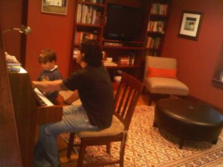 Josh Shriber in-home music lesson