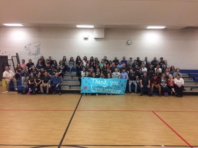 #LTbelieves: Volunteer Day at Clarendon Elementary School