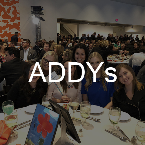 Lane Terralever is Recognized at the 2018 ADDY Awards