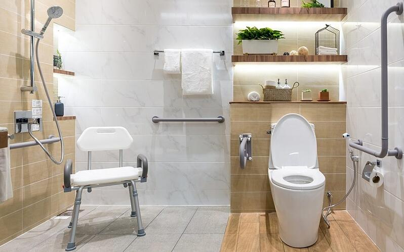 NDIS Approved Bathroom - Crystal Bathrooms