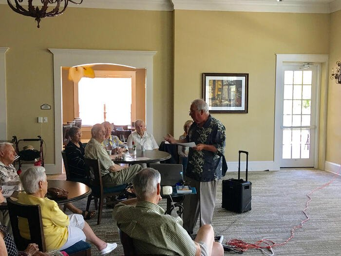 Cuban Author Visits Sandalwood Village To Share Fascinating Story Of Exile & Perseverance