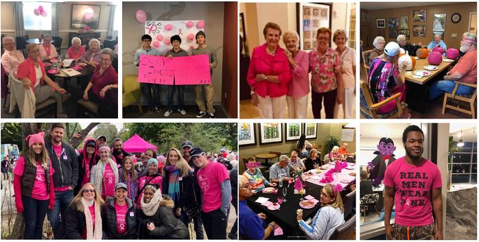 United Group Raises Over $3,000 For Breast Cancer Awareness