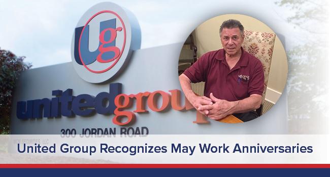 UGOC Spotlight: United Group Recognizes May Work Anniversaries