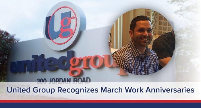 UGOC Spotlight: United Group Recognizes March Work Anniversaries