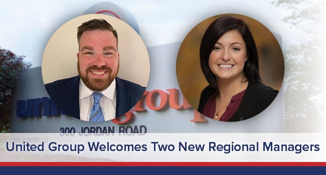United Group Welcomes Two New Regional Managers