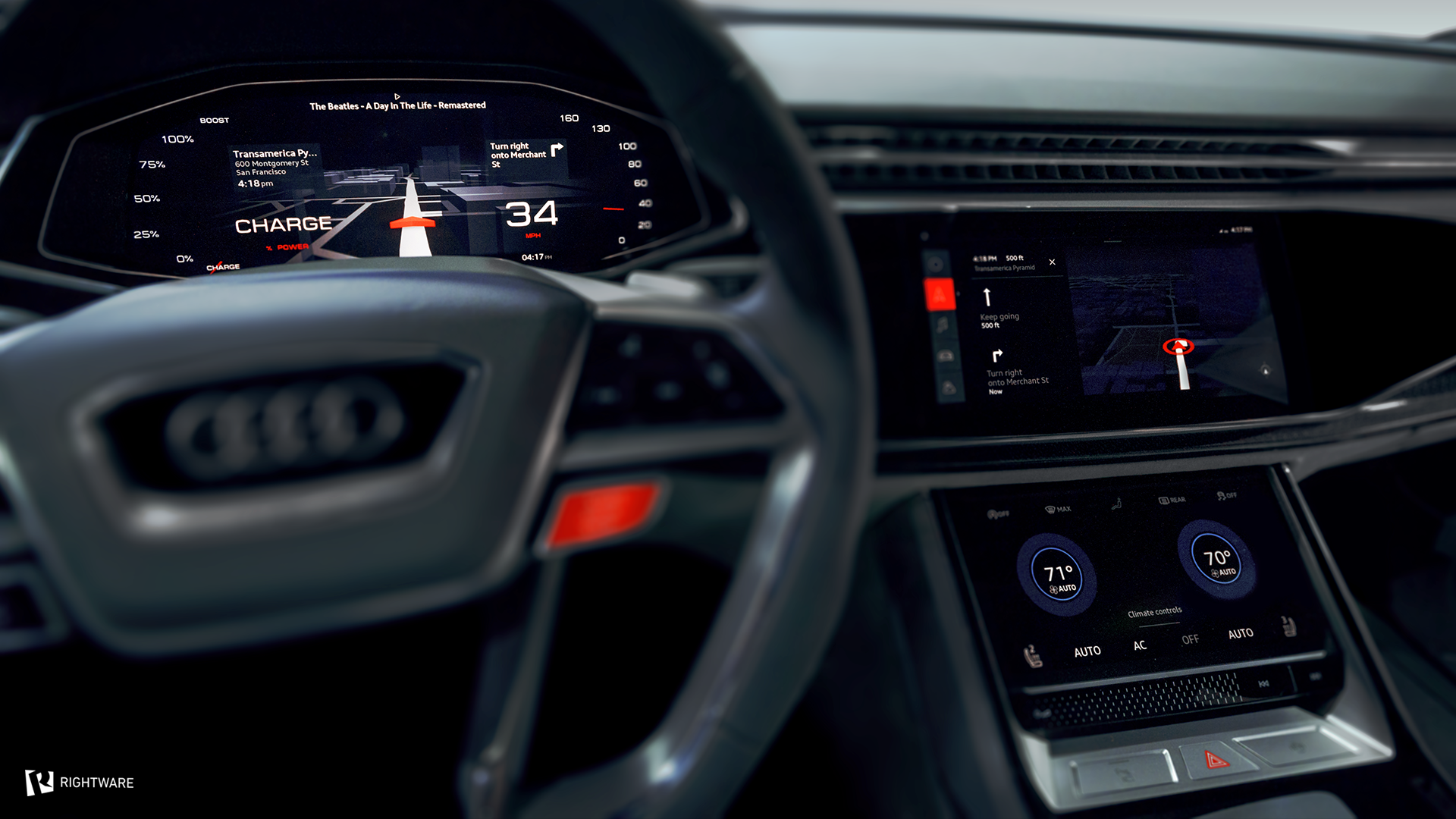 Audi Q8 Sport Concept Google IO