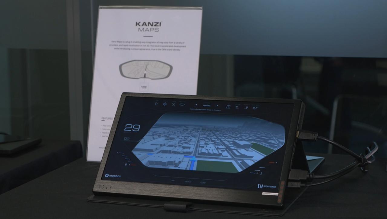 Kanzi maps sceenshot