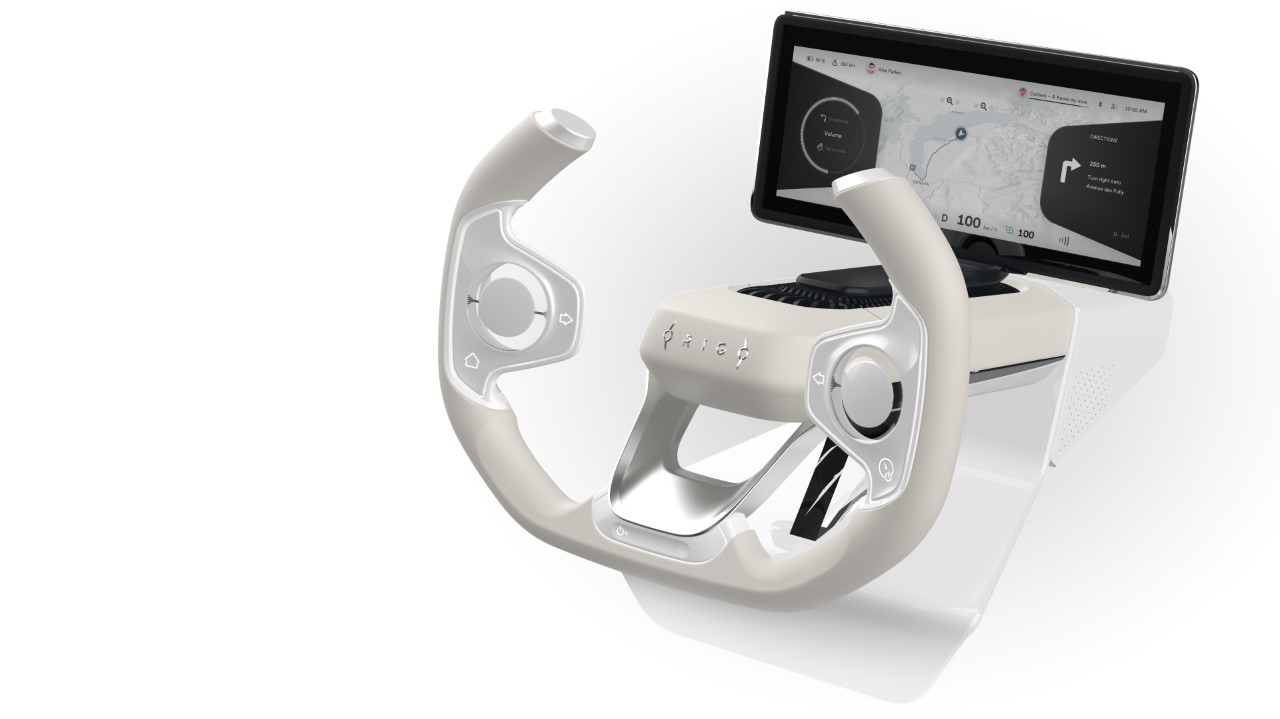 Origo Steering Wheel Concept