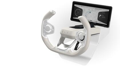 Finnish automotive ecosystem co-creates future driving experience with launch of Origo Steering Wheel concept