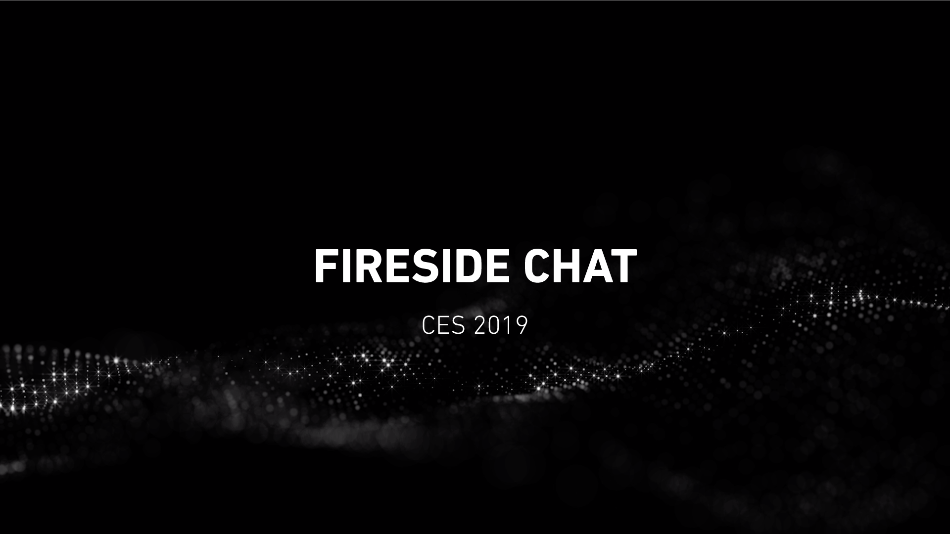 Rightware Fireside Chat CES 2019