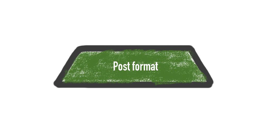 Post format