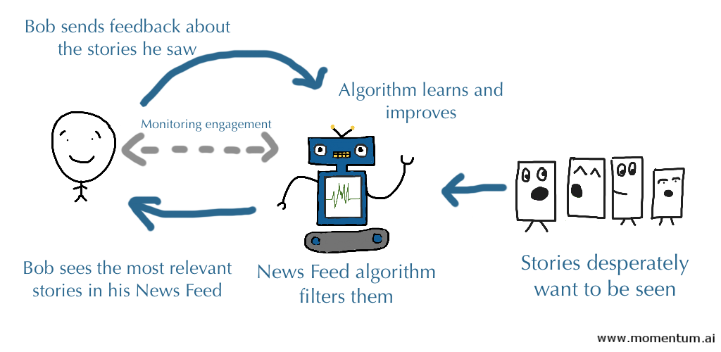 How news feed algorithm works