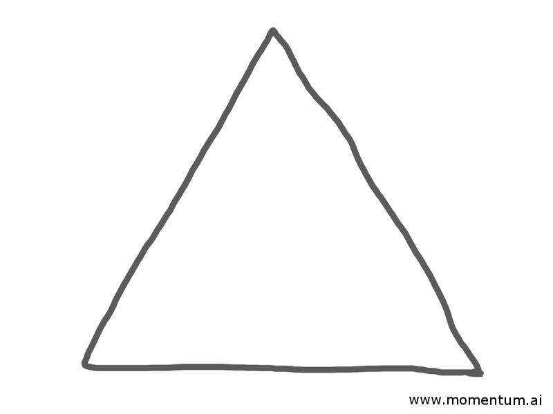 Blank pyramid