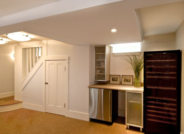 case study: basement renovation- historic house