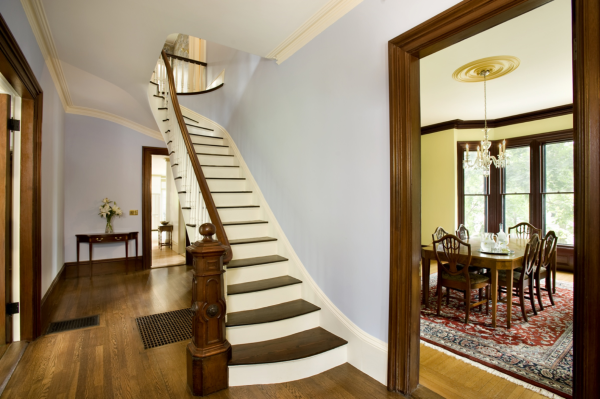 Historic Renovation For 1871 Second Empire Style Home