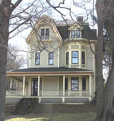 Historic House Paint Scheme