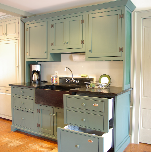 Kitchen Cabinet Renovation Ideas: One Approach To Old House Kitchen Renovations