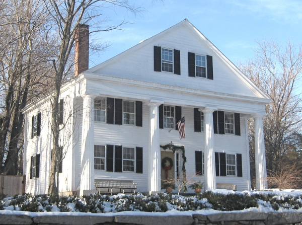 The Greek Revival In Small Town New England