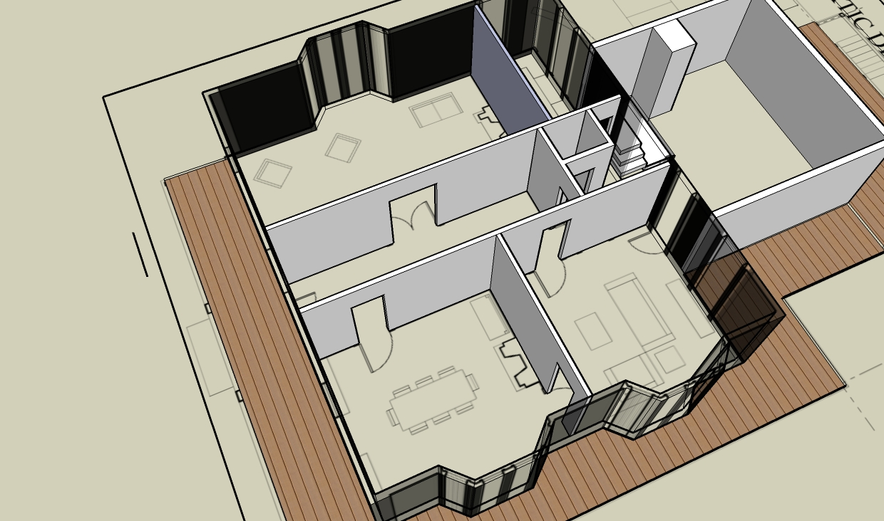 House renovation project plan - Gluck Kitchen Floor Plan