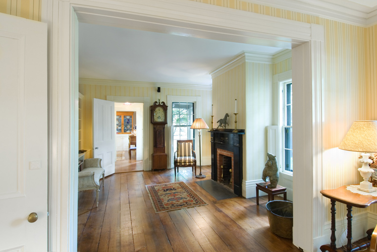 Greek Revival Historic Interior Restoration
