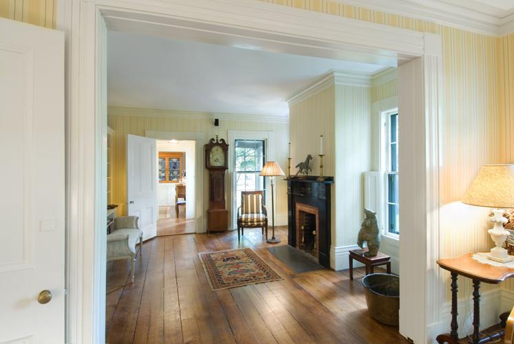 Greek Revival Historic Interior Restoration