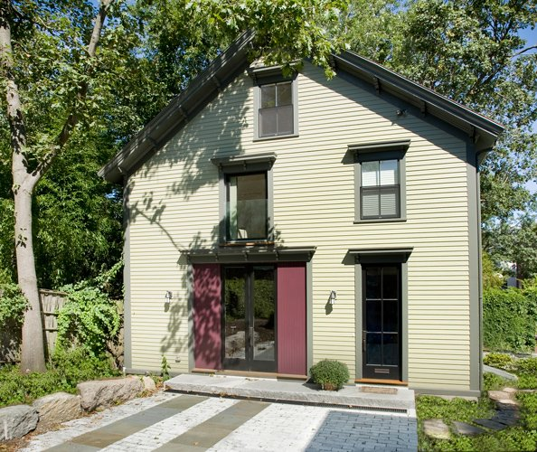Carriage house conversion brookline ma for How much to build a carriage house