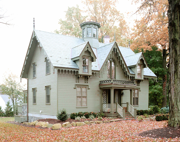 Addition to gothic home for Gothic revival home