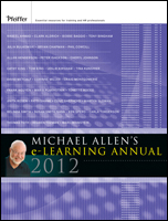 Michael Allen's 2012 e-LEARNING Annual icon