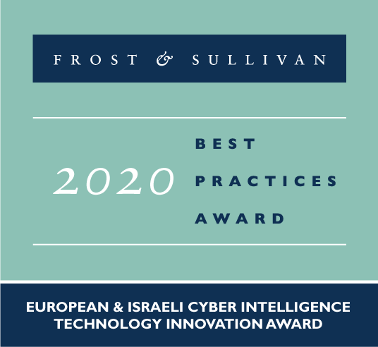Froast & Sullivan Best Practices Award