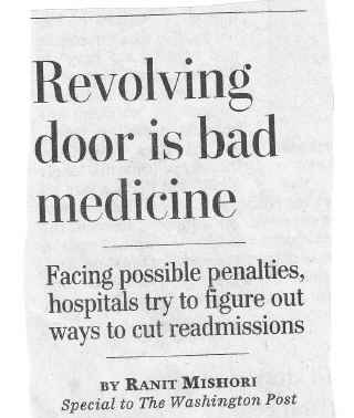 Revolving Door is Bad Medicine - Washington Post