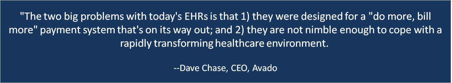 Dave Chase EMR quote