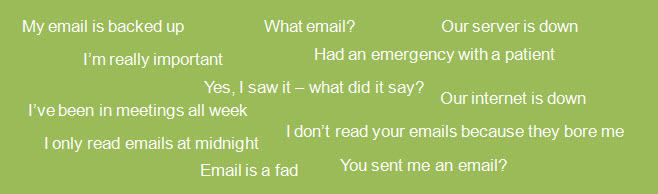 email excuses